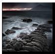 Twilight, Loch Scavaig, Cuillin Hills, Elgol, Isle of Skye, Scotland