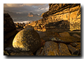 Gold light, Loch Scavaig, Cuillin Hills, Elgol, Isle of Skye, Scotland