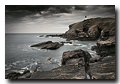 Mauvais temps, Phare de Stoer, Sutherland, Highlands, Scotland