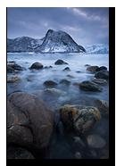 Strytinden, Senja, Troms, Norway
